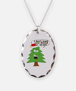 Christmas Tree Harassment Necklace