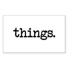 Things Decal