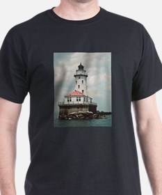 Chicago Navy Pier Lighthouse T-Shirt
