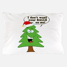 Christmas Tree Harassment Pillow Case