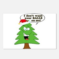 Christmas Tree Harassment Postcards (Package of 8)