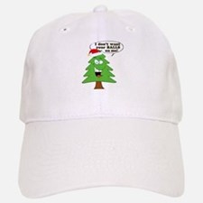 Christmas Tree Harassment Baseball Baseball Cap