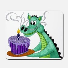 Birthday Dragon Mousepad