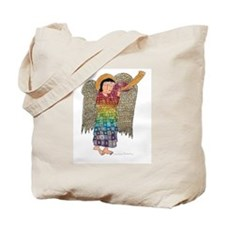 Rainbow Angel 2 Tote Bag