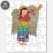Rainbow Angel 2 Puzzle