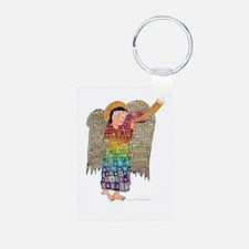Rainbow Angel 2 Keychains