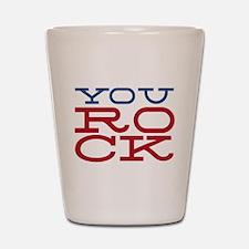 You Rock Shot Glass