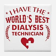 Dialysis Technician Tile Coaster