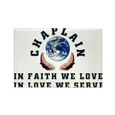 Cute Chaplain Rectangle Magnet (10 pack)