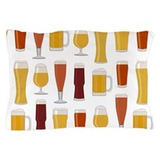 Beer Lover Print Pillow Case
