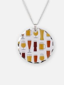 Beer Lover Print Necklace