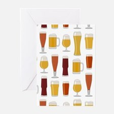 Beer Lover Print Greeting Cards (Pk of 20)