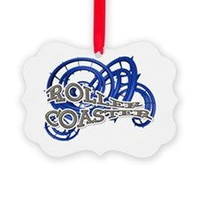 Roller Coaster Ornament