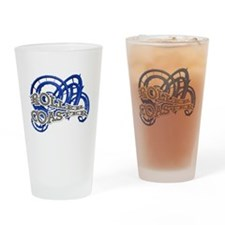 Roller Coaster Drinking Glass