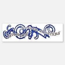 Fan of Roller Coasters Bumper Bumper Sticker