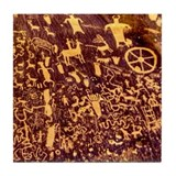 Cave painting Drink Coasters