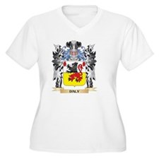 Daly Coat of Arms - Family Crest Plus Size T-Shirt