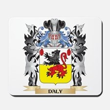 Daly Coat of Arms - Family Crest Mousepad