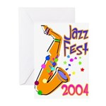 Just Jazz Note Cards