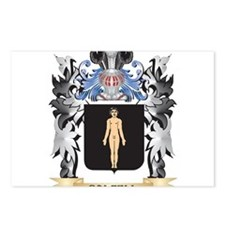 Dalzell Coat of Arms - Fa Postcards (Package of 8)