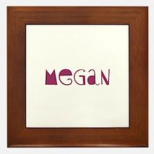 Megan Framed Tile