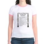 Clarinet Top 10 Jr. Ringer T-Shirt