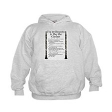 Clarinet Top 10 Hoody