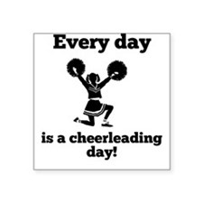 Every Day Is A Cheerleading Day Sticker