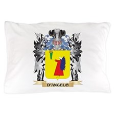 D'Angelo Coat of Arms - Family Crest Pillow Case