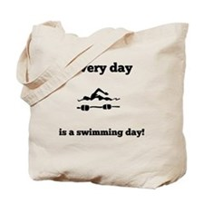 Every Day Is A Swimming Day Tote Bag