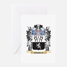 Daniels- Coat of Arms - Family Cres Greeting Cards