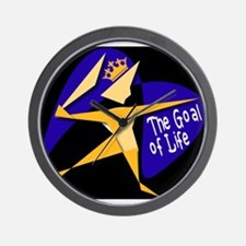 THE GOAL OF LIFE Wall Clock