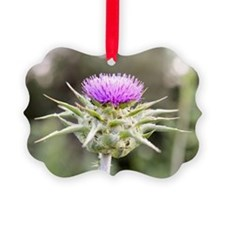 Thistle in Bloom Ornament
