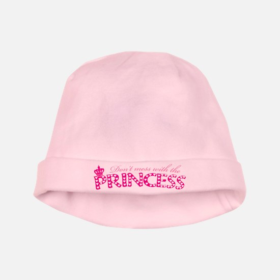 dontmesswithprincess.png baby hat
