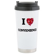 I love Convenience Travel Mug