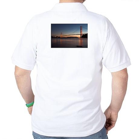 Golden Gate Bridge Golf Shirt