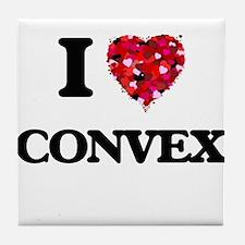I love Convex Tile Coaster