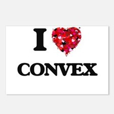 I love Convex Postcards (Package of 8)