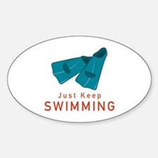 Just Keep Swimming Decal