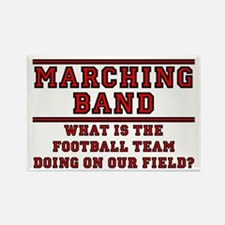 Football Team on Our Field Rectangle Magnet