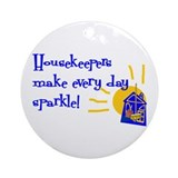 Housekeeper Round Ornaments