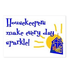 Housekeeper Appreciation Postcards (Package of 8)
