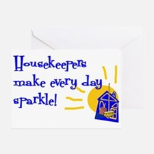 Housekeeper Appreciation Greeting Card