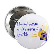 "Housekeeper Appreciation 2.25"" Button"