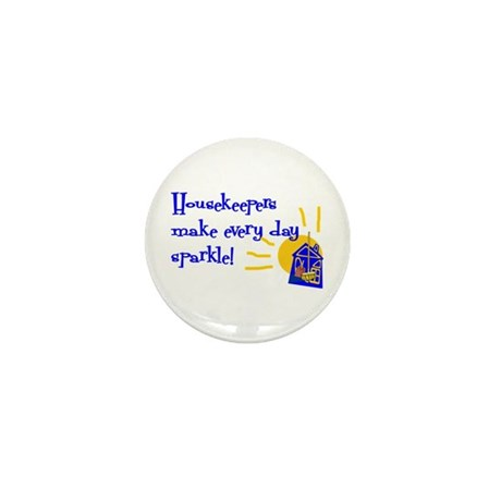 Housekeeper Appreciation Mini Button (10 pack)