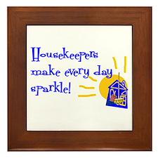 Housekeeper Appreciation Framed Tile