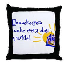 Housekeeper Appreciation Throw Pillow