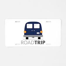 Road Trip Aluminum License Plate