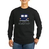 Travel Long Sleeve Dark T-Shirts