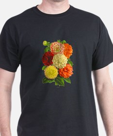 Summer Dahlias T-Shirt
